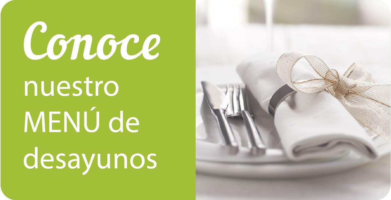 Menú de desayuno Centro Español